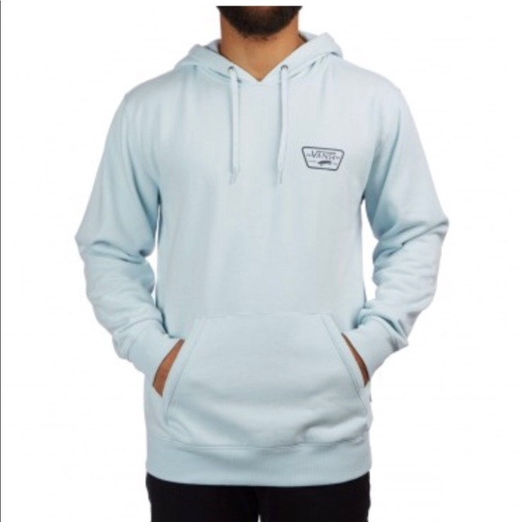 bb630acd05c Men s Vans Full Patched Hoodie - Baby Blue - XL. M 5afc9d179a9455c04465a442